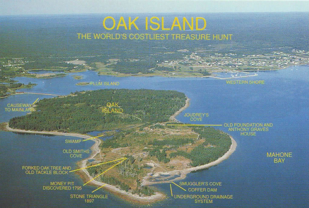 Oak Island Legend Come From
